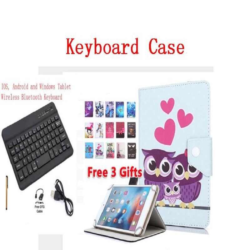 Покрытие клавиатуры Bluetooth для ipad hp Dell lenovo Asus acer для huawei samsung sony tablet Универсальный 7 дюймов 8 дюймов чехол с клавиатурой
