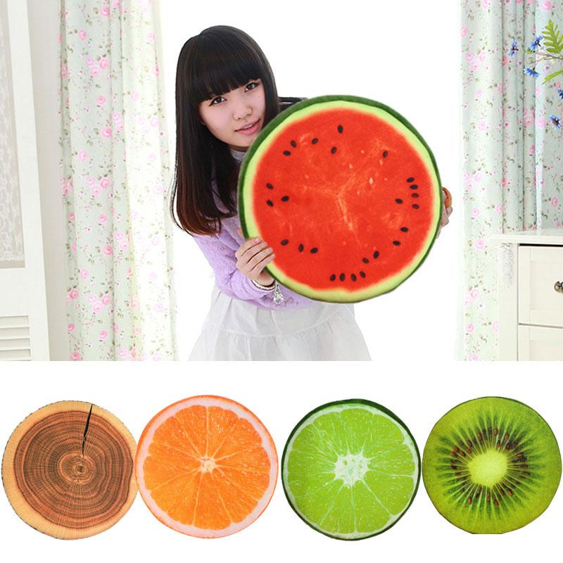 3d Vivid Plush Foam Fruit Pillow Back Cushion Office Chair Sofa Bed Decor #81064 Sale Overall Discount 50-70% Shade
