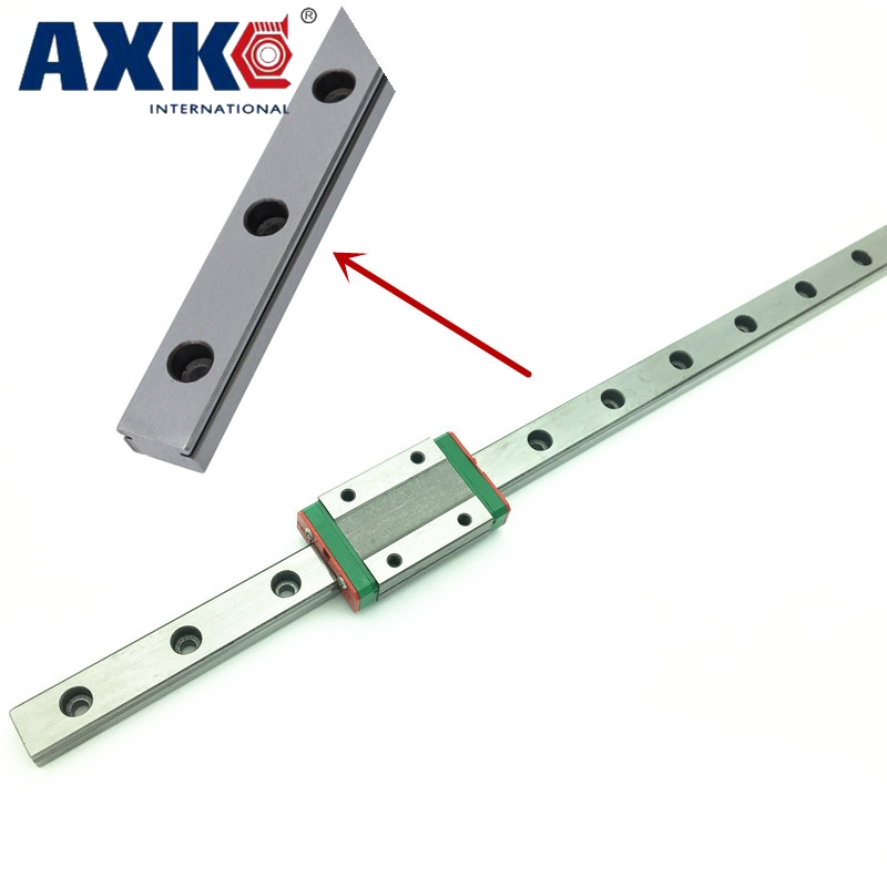 9mm Linear Guide Mgn9 L = 100mm 150mm 200mm 250mm 300mm 350mm 400mm 450mm 500mm 550mm 600mm Mit 1 stücke Mgn9c Oder Mgn9h Lange