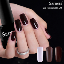 Sarness 8ml Professional UV LED Gel Nail Polish Lucky Color Nail Art Vernis Semi Permanent Soak Off Cheap Gel Varnish