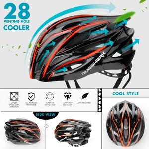 Image 4 - Quesharkプロフェッショナルメンズ · レディースエアーベントサイクリングヘルメット超軽量乗馬山道バイクヘルメット頭安全