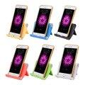Suporte de mesa de telefone flexível universal para ipad iphone 7 samsung s7 xiaomi mi5 v-suporte em forma de telefone celular e tablet portátil