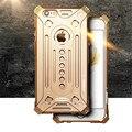 Роскошные Противоударный Телефон обложка Авиационного Алюминия Металл Открытый Полная Броня Защиты чехол для iPhone 5 5S SE 6 6 s 7 Плюс 7 Плюс