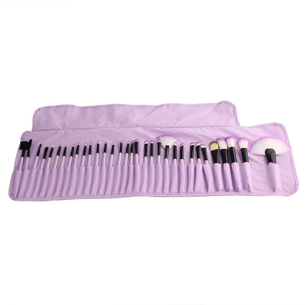 Professional 32 PCS Makeup Brushes Set + PU Leather Case Cosmetic Foundation Eyeshadow Powder Brush Beauty Tools Maquiagem (12)