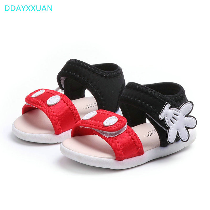 Girls Princess Sandals Soft Sole 2018 New Children Summer Shoes Mickey Kids Gladiator Sandals Shoes for Baby Girls Sandal