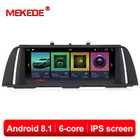 IPS ID7 PX6 6cores Android 8.1 System Car GPS Navi Radio For BMW 5 Series F10 F11 2011 2017 With BT DVR SWC WIFI Stereo 2+32G