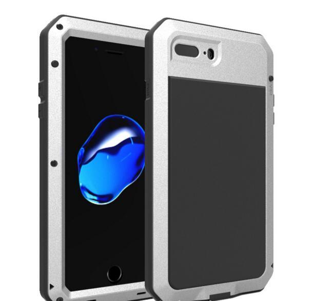bilder für Für iPhone 7 Fall Hybrid Wasserdicht Fall für Fahren Stoßfest Schnee-Metall Aluminium Defender Abdeckung iPhone7 6 6 s plus fällen