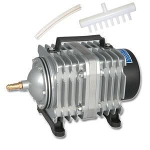 Image 1 - Resun 水族館曝気ポンプ大型魚池シーフードプール電磁エアーポンプエアレーター大気ポンプ酸素ポンプ