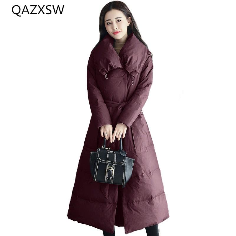 Long Chaud Dark Sur Mince Veste Nouveau Extérieure Femmes Sauvage D'hiver Mot Manteau 2018 Dq244 Paragraphe purple Genoux De Coton Un Les Taille Green Épais wSYxaCCq1