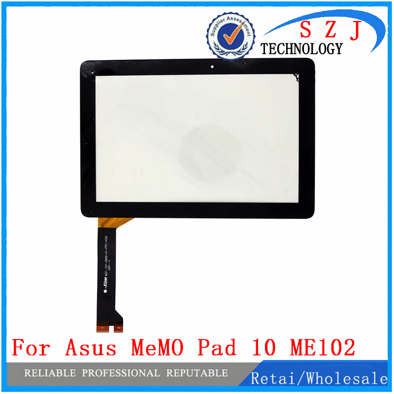 New 10.1'' inch FOR Asus MeMO Pad 10 ME102 ME102A V3.0 MCF-101-0990-01-FPC-V3.0 Touch Panel Screen Digitizer Free shipping for sq pg1033 fpc a1 dj 10 1 inch new touch screen panel digitizer sensor repair replacement parts free shipping