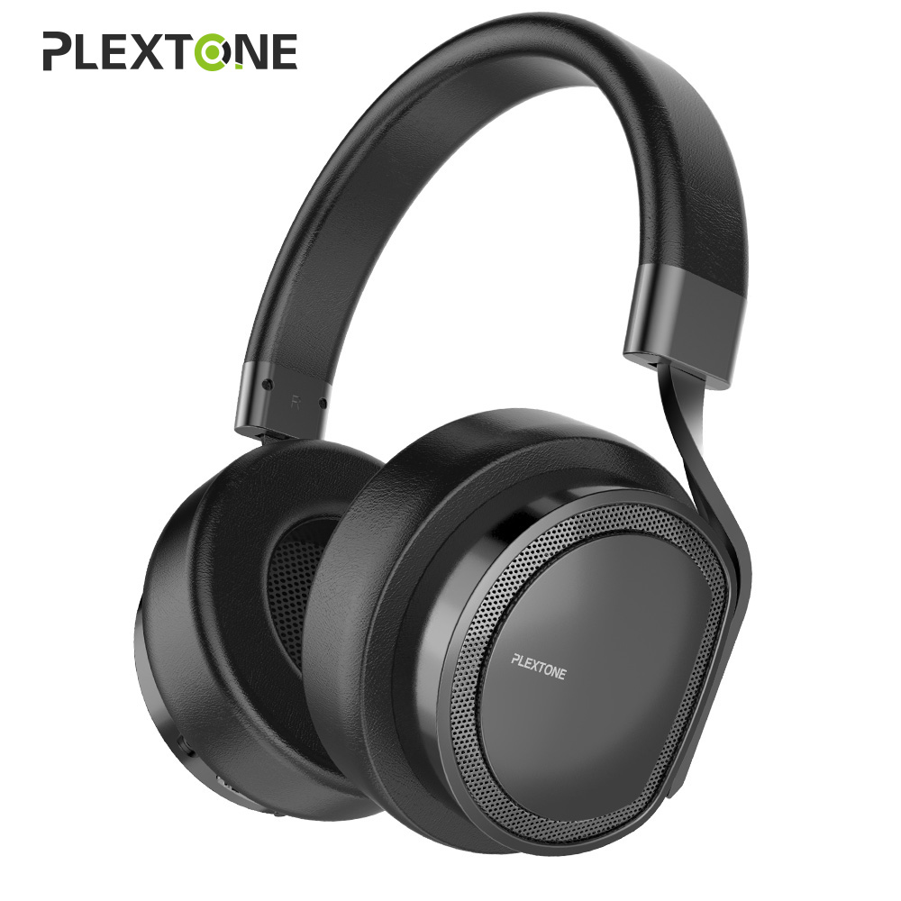 Plextone Wireless Headphone auriculares Bluetooth Headset with Mic For iPhone Xiaomi 8Gb Mp3 Player m165 bluetooth 4 1 headset with dual mic for iphone android
