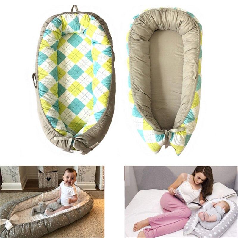 Lit bébé nid berceau Portable amovible et lavable lit de voyage pour enfants bébé enfants berceau en coton pour nouveau-né