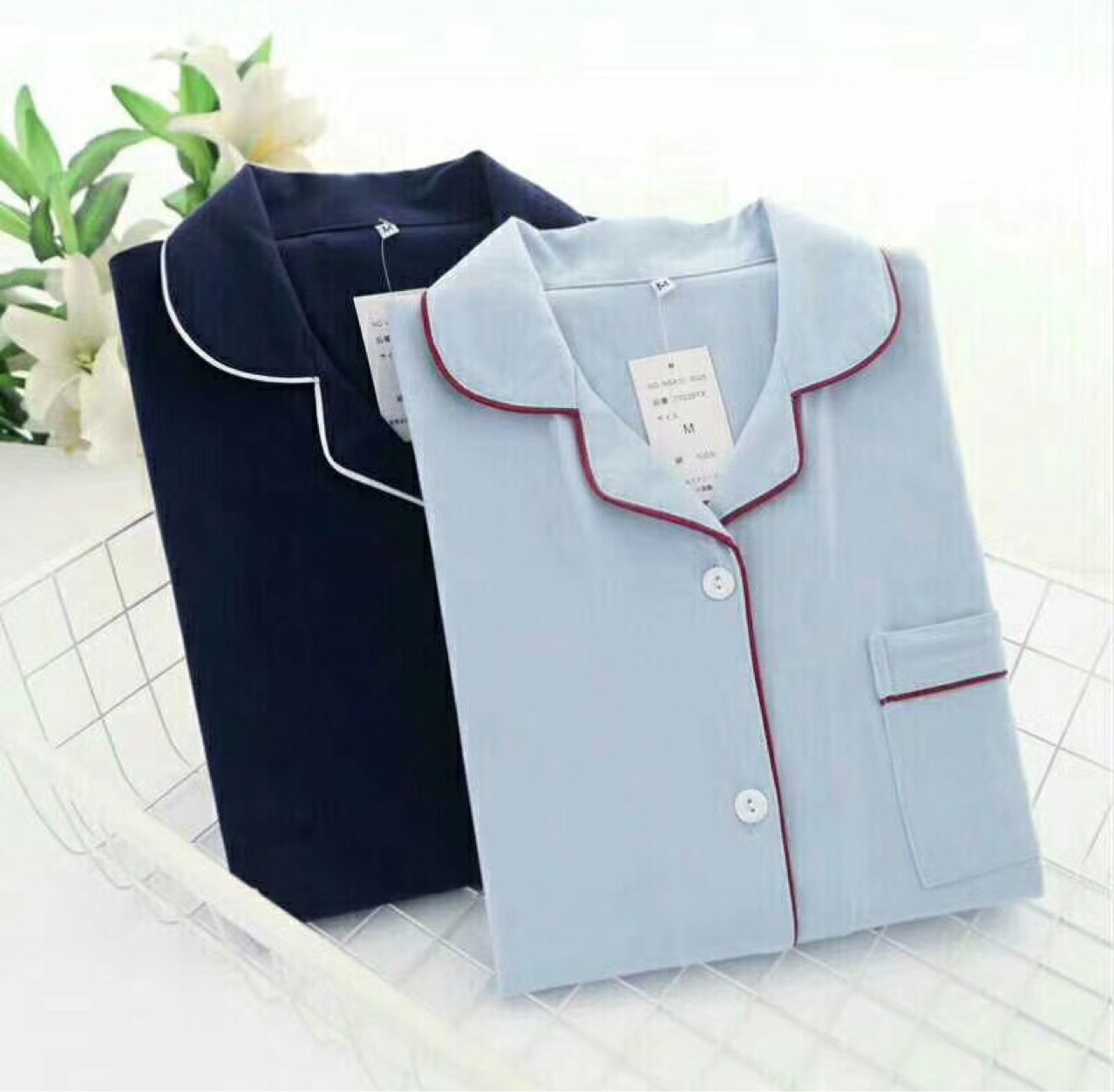 Cotton material Sleeping Suit Women Loungewear Women Women   Pajamas     Set   9472
