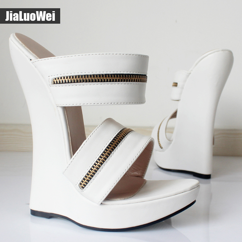 Black La Mode Jialuowei Bride Sandales forme Dames