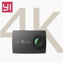 В наличии черный! Оригинальный Xiaomi Yi 4 К Действие HD Камера 2 II 2.19 «Retina Экран IMX377 12MP 155 градусов EIS НРС Спортивные Камера