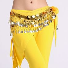 Belly Dance Bellydance Costumes Hot Sale Selling Rushed Costume 108 Huazhung Double Layer Coins Gonfalons Chain Chiffon Fm6163
