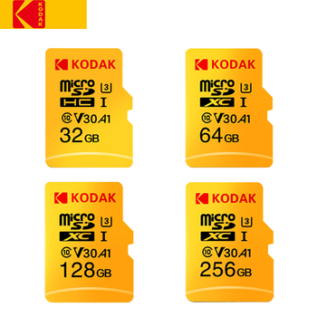 Kodak Micro SD Card 128GB 32GB 64GB 128GB 256GB TF Card Class10 U3 A1 V30 Memory Card 100MB/s Reading Speed Micro SD Card 32GB