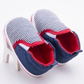 Newborn Baby Boys Shoes Striped Kids Sports Sneakers Infant Toddler Walker Rubber Bottom Casual Booties Chaussure bebe Sapatos