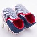 Zapatos de Los Bebés recién nacidos Niños Rayaron Deportes Sneakers Infant Toddler Walker Inferior De Goma Ocasional Botines Chaussure Sapatos bebe