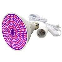 290 Led Bead Anlage Wachsen Licht Lampe Volle spektrum Birne E27 Set für Blume Samen Gewächshaus Berührbaren Lichter EU /US/AU Typ Pflanzenlichter    -