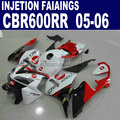 7gifts+Cowl injection molding road kit for Honda Konica Minolta CBR600RR fairing 600RR 2005 2006 CBR 600 RR 05 06 body fairings
