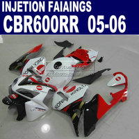 7gifts+Cowl injection molding road kit for Honda Konica Minolta CBR600RR fairing 600RR 2005 2006 CBR 600 RR 05 06 body fairings
