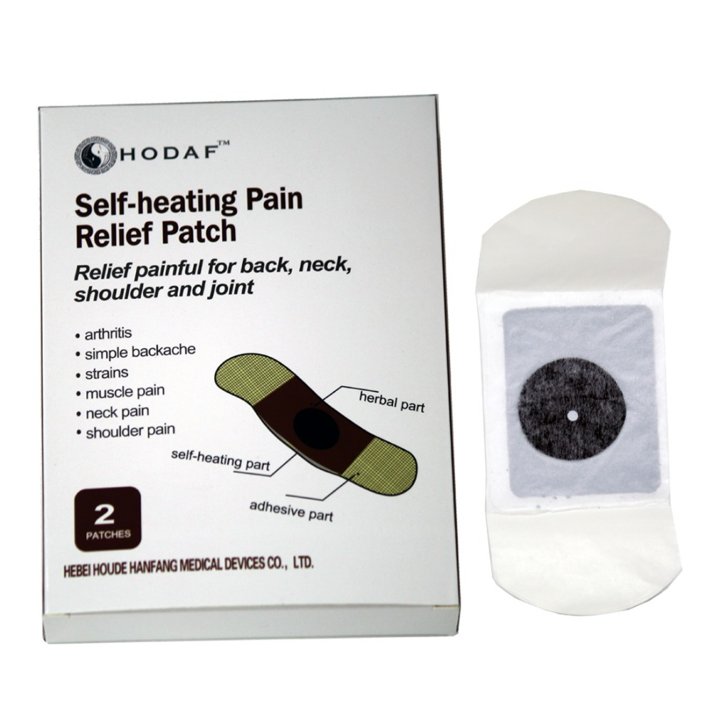 2 Patches/Box Medical Plaster Self-heating Pain Relief Patch Releif Back/ Neck /Shoulder Joint Pain Chinese Medical Plaster