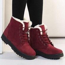 Femme bottes courtes 2017 nouvelle arrivée bottes d'hiver de neige chaude bottes de mode plate-forme cheville bottes unisexe chaussures