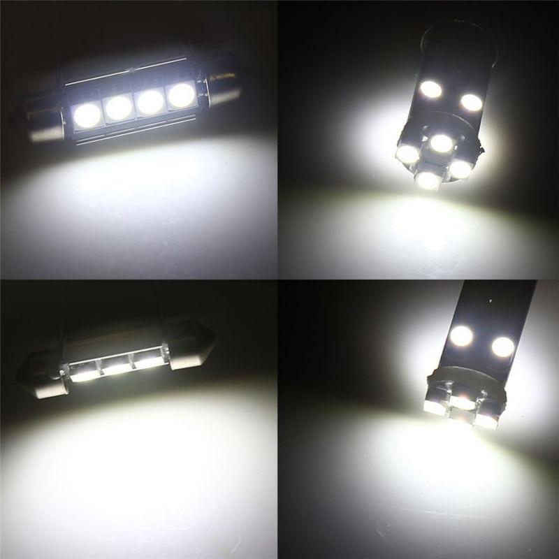 23 pces carro led interior luzes lâmpada