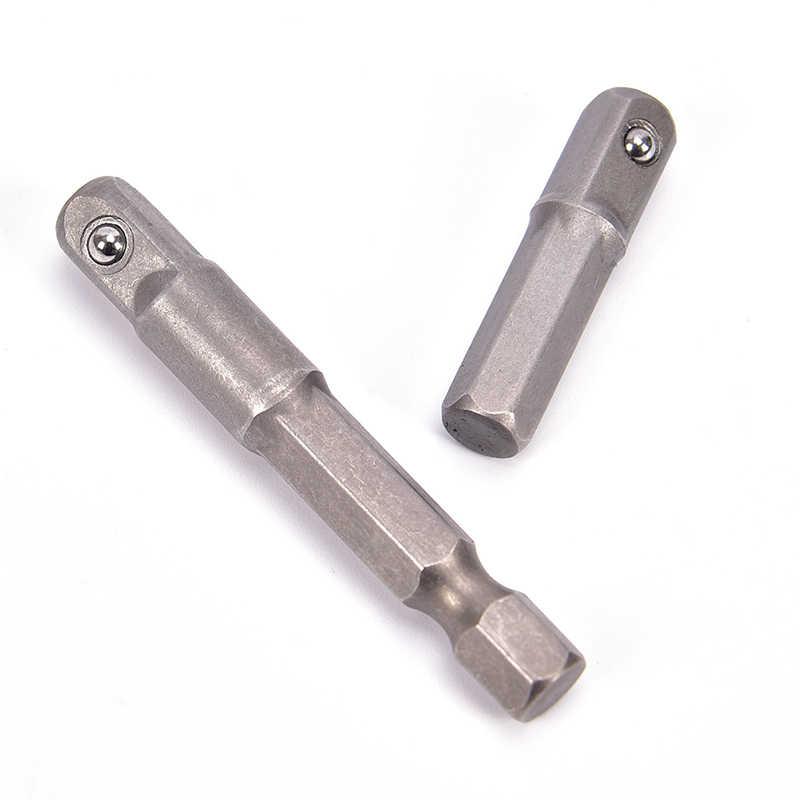 """Een Stuk Wrench Mouwen Extension Bar Hex 1/4 """"3/8"""" 1/2 """"Schacht Drive Power Boor Socket Driver adapter"""