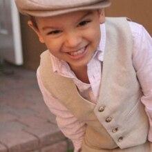 Детский жилет+ штаны, весенне-осенние Свадебные смокинги для жениха, Детские праздничные костюмы для мальчиков