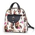 2016 Новый Бренд женщины мода рюкзак высокое качество женщины ИСКУССТВЕННАЯ кожа рюкзак Девушки школа отдыха рюкзак mochila feminina мешок