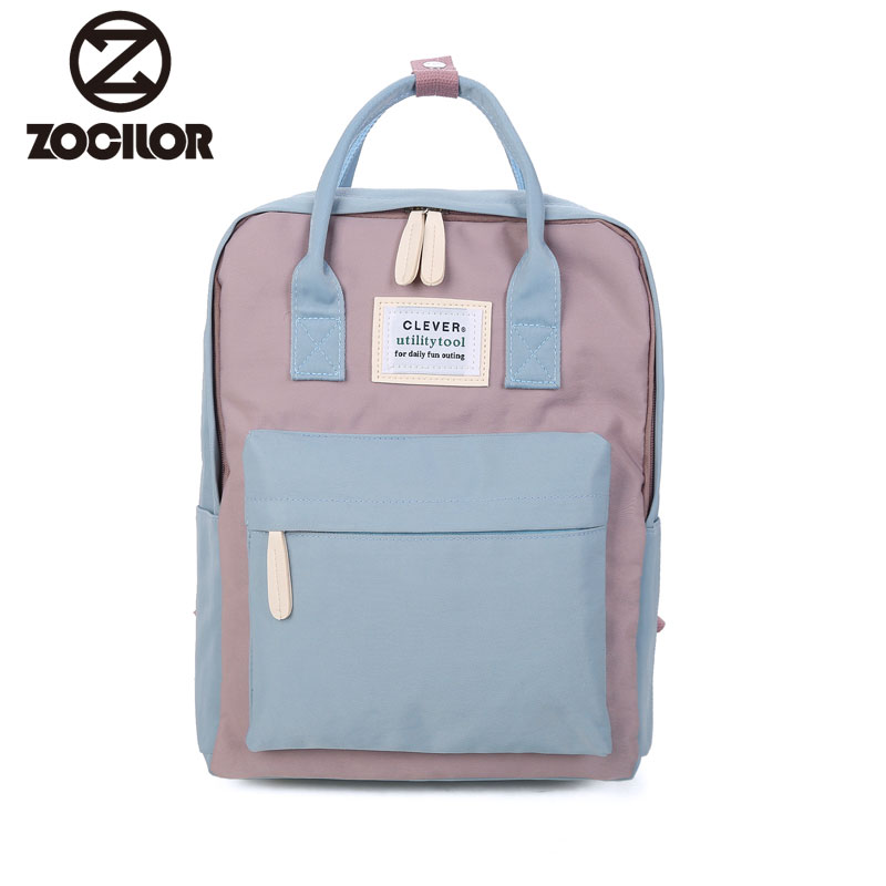 Multifunction women backpack fashion youth korean style shoulder bag laptop backpack schoolbags for teenager girls boys travel image