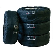 Chiziyo 4 шт./компл. запасное крышка покрышки сумка для хранения с отметкой Аксессуары для покрышек пыле солнцезащитный крем протектор для 13 «- 19»