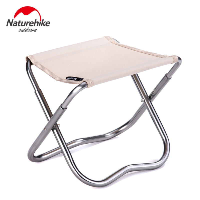 Naturehike New Ultra Light Folding Fishing Chair Seat for Outdoor Camping Leisure Picnic Beach PortableChair Other Fishing Tools new arrival high quality folding fold aluminum chair outdoor stool seat for fishing for camping