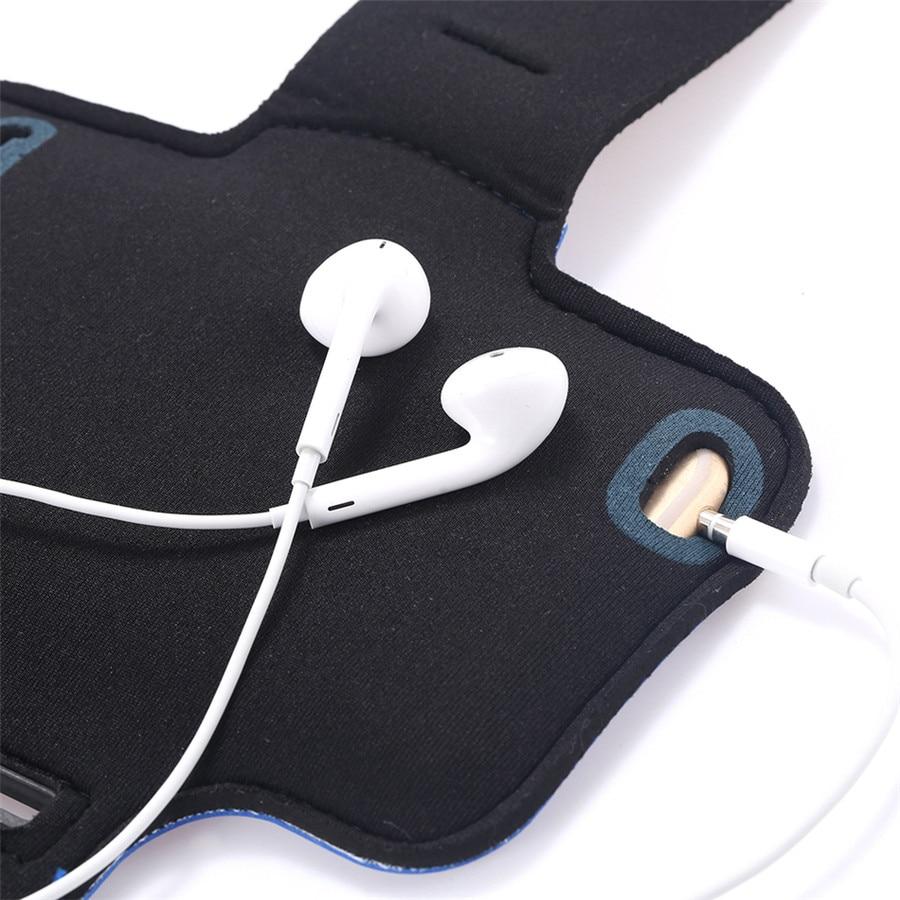 Pokrowiec na iPhone 7 Plus wodoodporna sportowa opaska na ramię do - Części i akcesoria do telefonów komórkowych i smartfonów - Zdjęcie 5