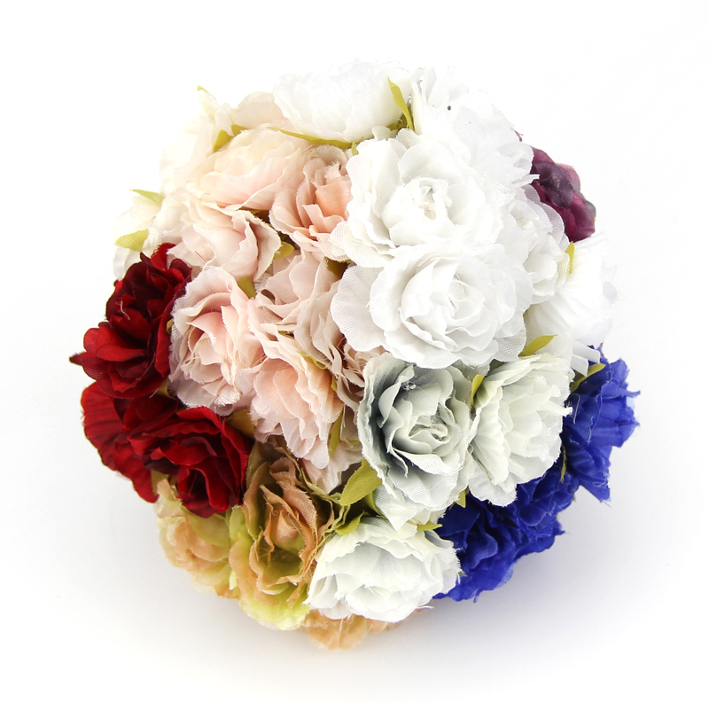 8 cm-fleurs blanches Lot de 12 ivoirine Carnation Flower heads