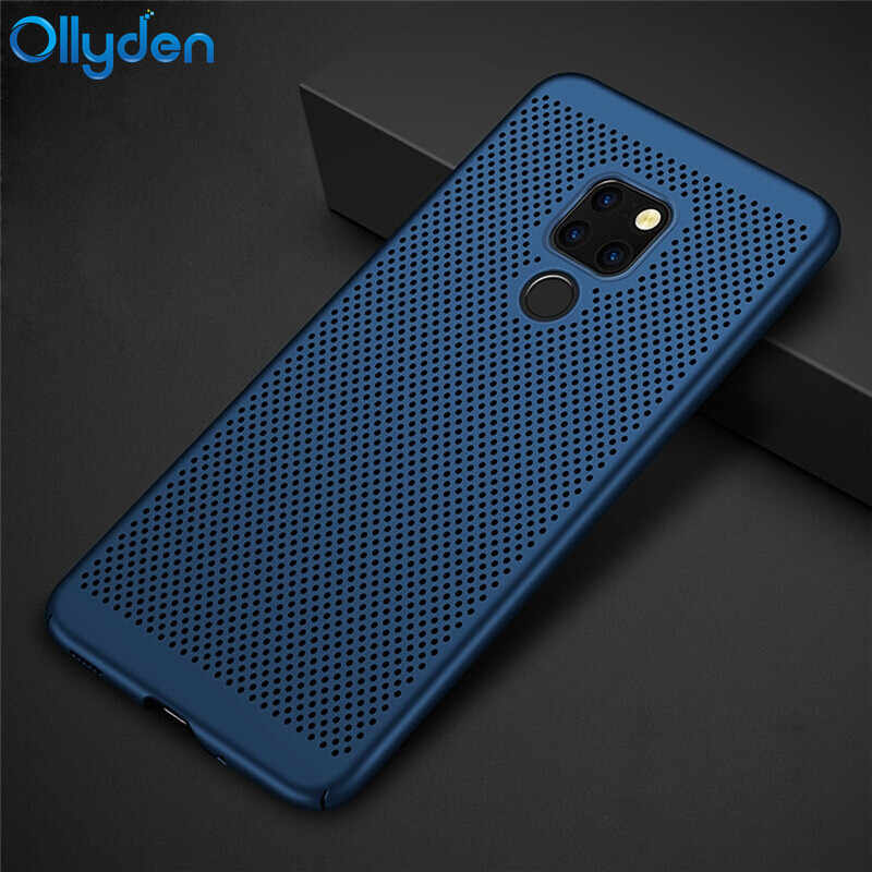 Heat Dissipation Hollow Full Body PC Phone Case For Huawei Mate 20 Pro Cover For Huawei Mate 20 Lite Case Mate 20 X Mate20 Coque
