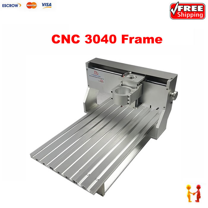 cnc router spare parts 3040 cnc machine frame kit ball screw with limit switch cnc frame kit cnc 3020z diy frame with ball screw optical axis and bearings for cnc milling machine
