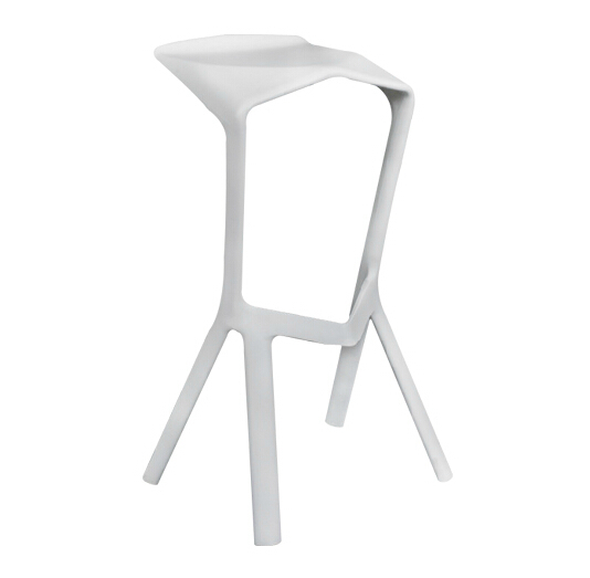 Free Shipping - White Miura Stool free shipping