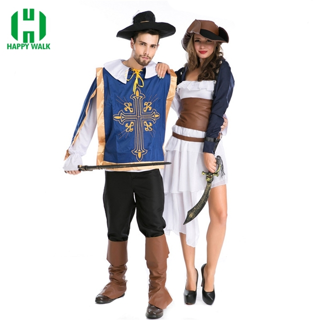 2019 Nuove Donne Sexy del Pirata Del Costume Degli Uomini di Halloween  Partito Del Vestito Operato 6bcc86b14c7
