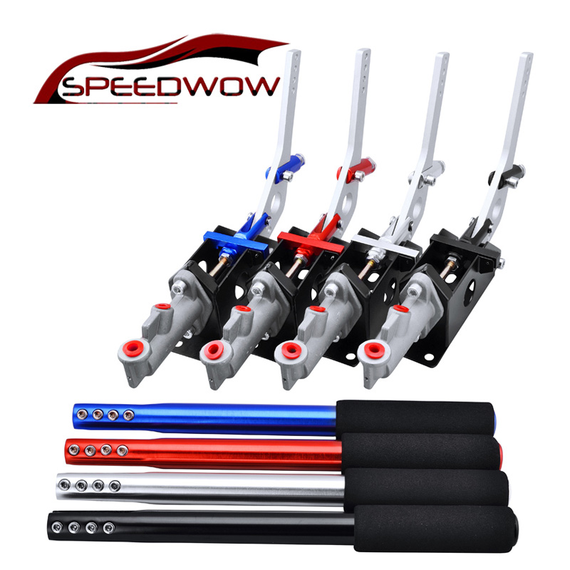 SPEEDWOW Universal Car Hydraulic Drift Handbrake Racing Hand Brake JDM Rally Drifting E- ...