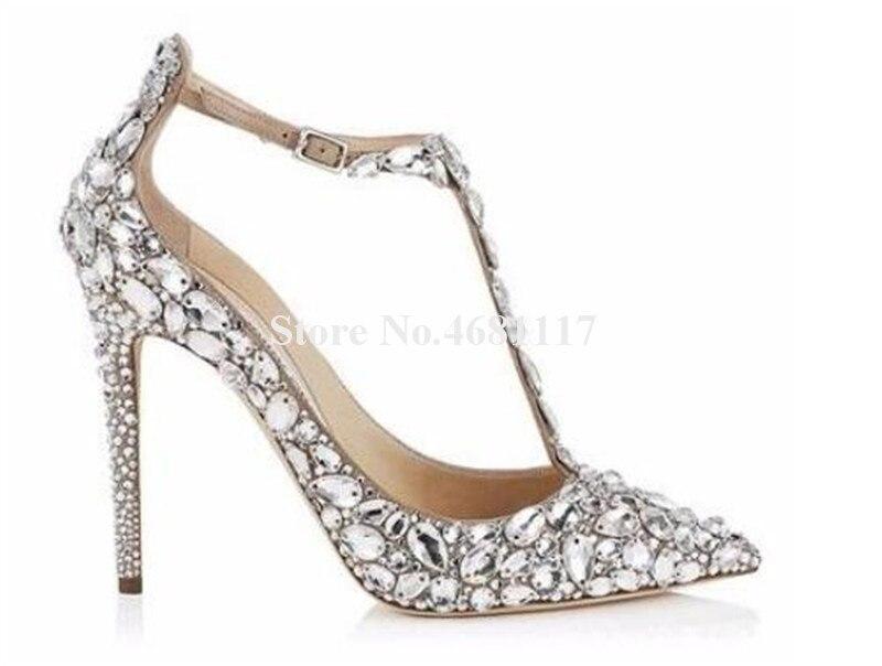 Mariage De Luxrious Mode Talon Femmes Peep Strass Closed Daim Chaussures black Open Pompes Cuir Toe Toe Haute Toe Black Cristal Diamant Mince beige En Talons FxAwCCqT