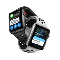 Silicon Sports Band Strap For NIKE Apple Watch Black Volt Bracelet For Apple Watch Band Series