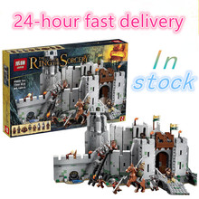 LEPIN 16013 The Lord of the Rings Series The Battle Of Helm' Deep Model Building Block Bricks figures Compatible 9474