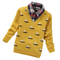 New Autumn 2017 Children Sweaters Shirts Boys Knitted Sweater Pullover Sweater Kids Clothing