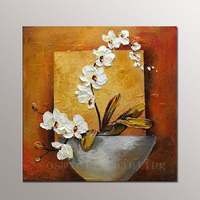 Top Artist Handpainting Abstract Wall Art Calligraphy Home Decorative Beautiful Modern Flower Palette Knife Canvas Oil