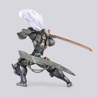 2016 Action Figure Online Game LOL Yasuo PVC 24cm The Unforgiven Yasuo Anime Collection Model Dolls