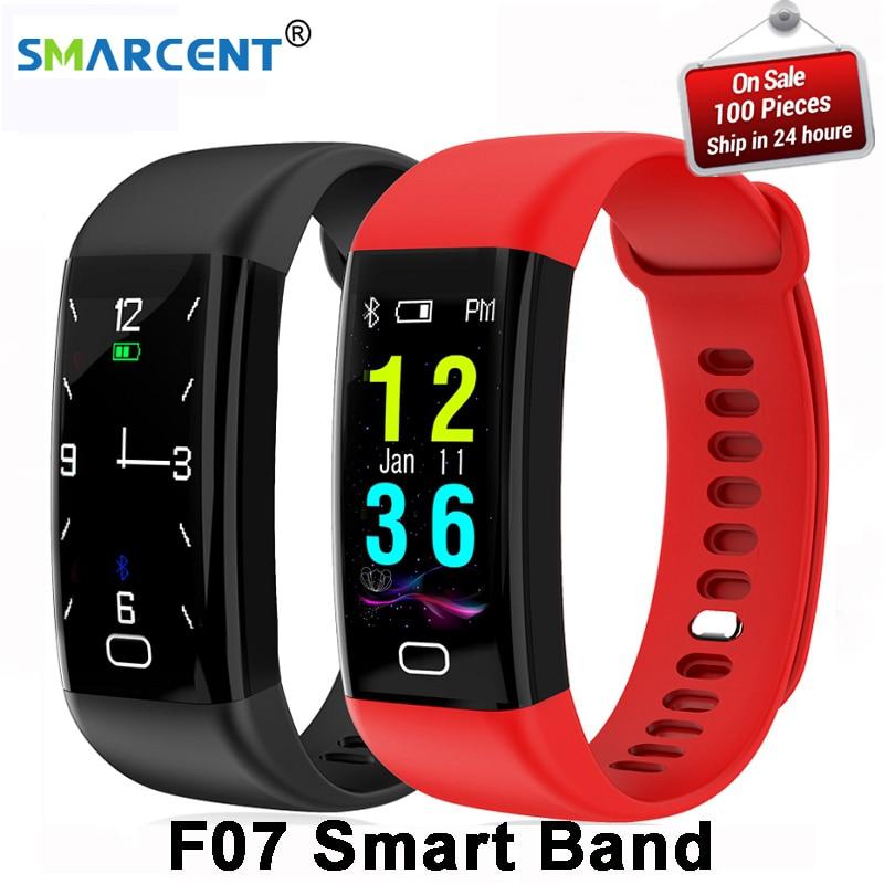 D'origine F07 Étanche Smart Bracelet Moniteur de Fréquence Cardiaque Sang Pression Fitness Tracker Smartband Sport Montre pour ios android