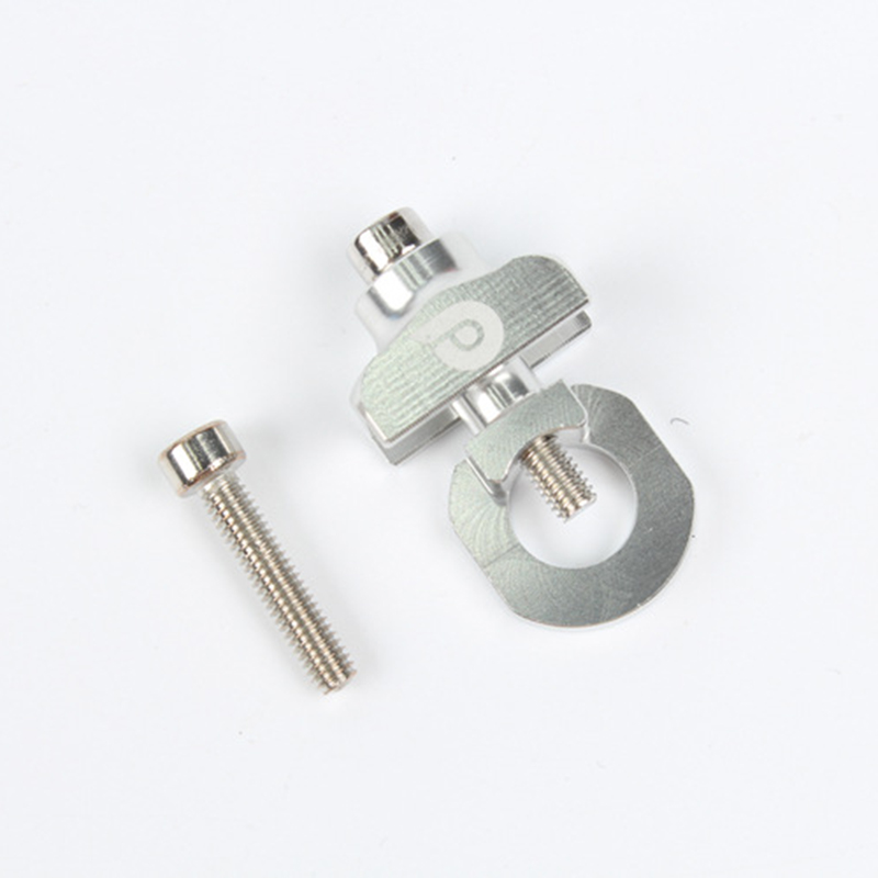 Bicycle Chain Adjuster Tensioner Alloy BMX Bikes Cycling Upkeep Folding Fastener